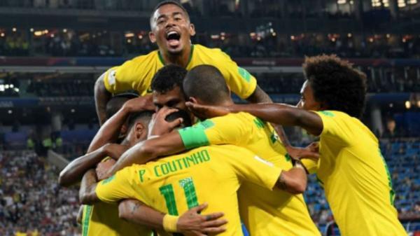 Brasil venceu a Sérvia por 2 a 0