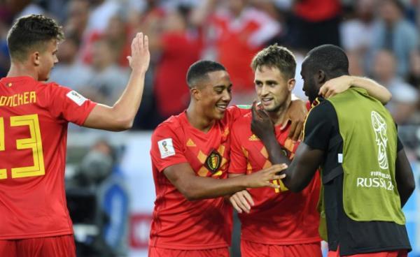 Bélgica passa pelo Japão e enfrentará o Brasil nas quartas de final (Foto: Reuters)