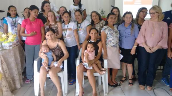 Campanha de incentivo ao aleitamento materno(Foto: Marcos Genilson do Agora Piauí)