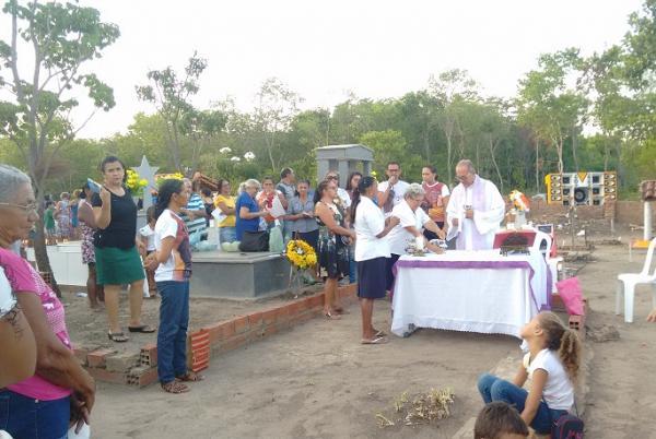 Dia de Finados Foto: Marcos Genilson /Agora Piauí