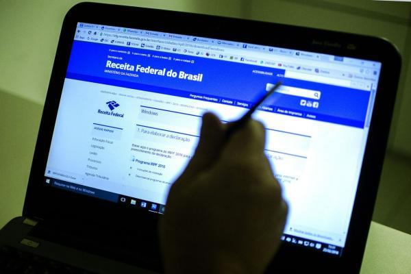 Página da Receita Federal na Internet. Foto: Marcello Casal Jr./Agência Brasil