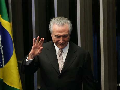 ex-presidente da República Michel