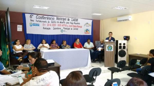 VI Conferência Municipal de Saúde de Hugo Napoleão (Imagem: Marcos Genilson /AGORA PIAUÍ)