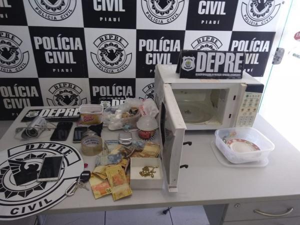 Droga apreendida pela Depre durante operação — Foto: Divulgação/Polícia Civil