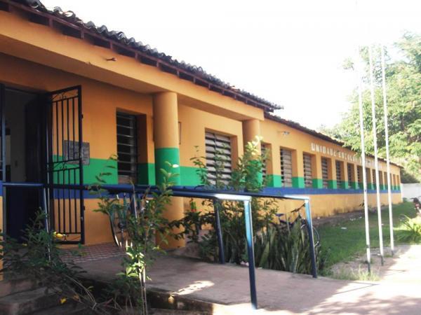 Escola Estadual Otávio Falcão, na cidade de Porto, no Norte do Piauí.