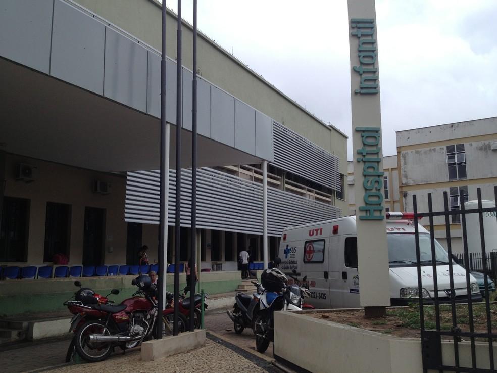 Hospital Infantil Lucídio Portela — Foto: Gilcilene Araújo/G1