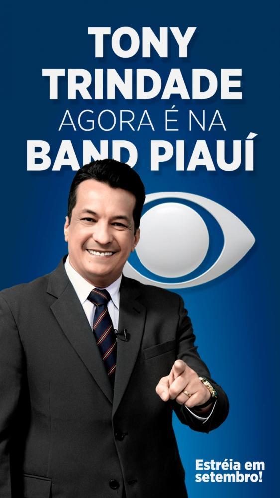 Tony Trindade estreia na Band Piauí