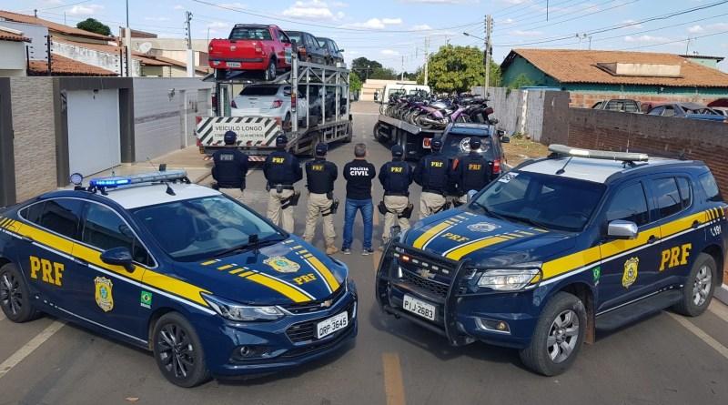Operação da PRF apreende 281 veículos / foto: PRF