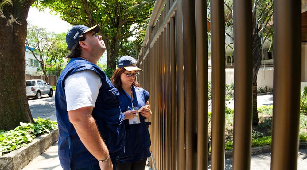 Recenseadores — Foto: Licia Rubinstein/Agência IBGE Notícias