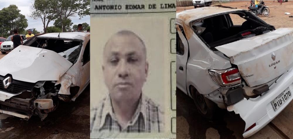 Homem morre após capotar veículo na BR 343 proximo a Angical do Piauí