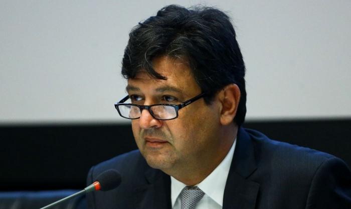 Ministro confirma primeiro caso de coronavírus / foto: Marcelo Camargo