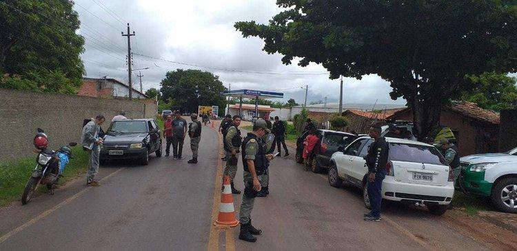 Operação Águas de Março foi realizada na cidade de Altos, nesta sexta-feira (Foto: Divulgação/SSP)
