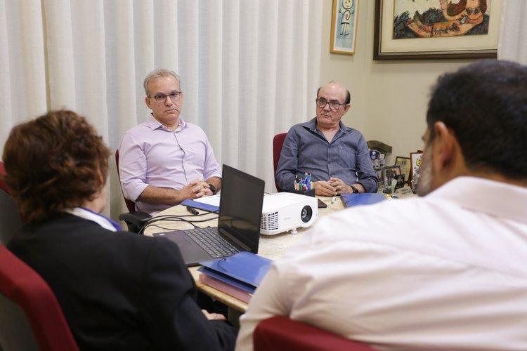 Imagem da reunião