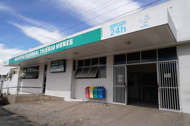 Hospital Regional Tibério Nunes, em Floriano — Foto: Ascom/Sesapi