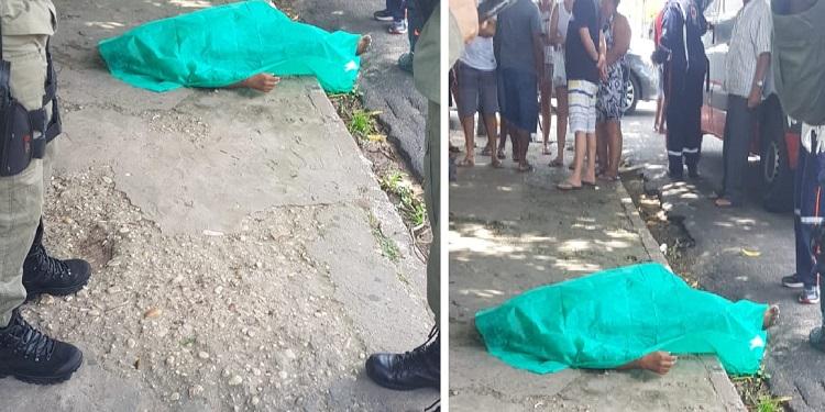 Homicídio no Parque Piauí Foto: Divulgação