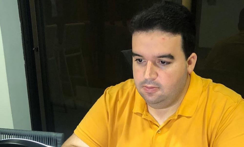 Reginaldo Júnior, prefeito de Palmeirais Foto: Reprodução/Instagram