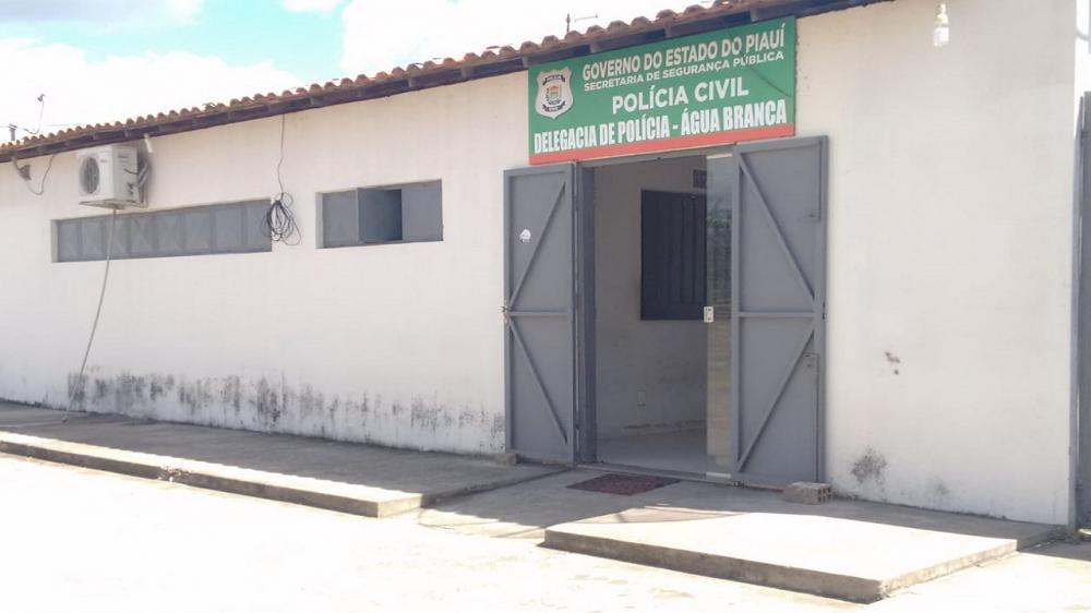 DP de Água Branca Foto: Marcos Genilson / Agora Piauí