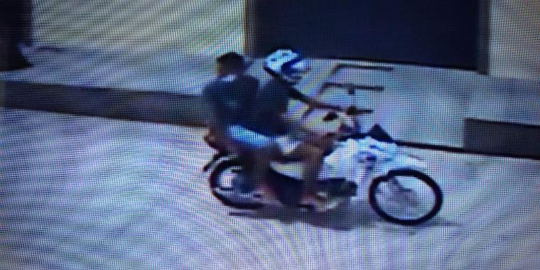 Dupla que teria tentado assaltar o irmão do PM. Foto: Reprodução