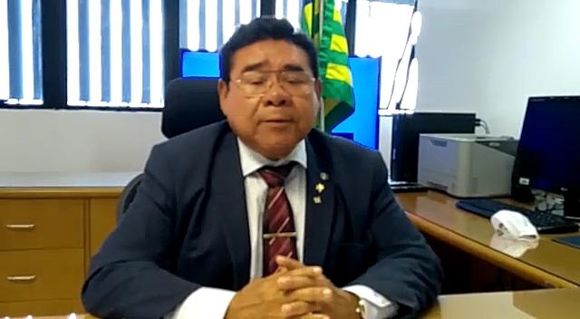 Presidente do Tribunal Regional Eleitoral do Piauí, desembargador José James Gomes Pereira Foto: Reprodução/TRE-P