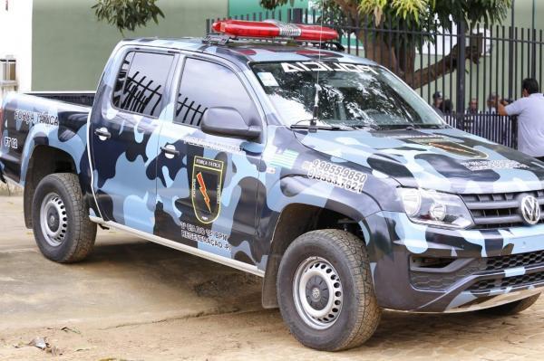 Policial militar é preso suspeito de tentar matar ex-companheira com tiros de pistola em Regeneração
