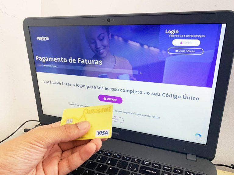 A fatura poderá ser paga também com o cartão do auxílio emergencial Foto: Divulgação