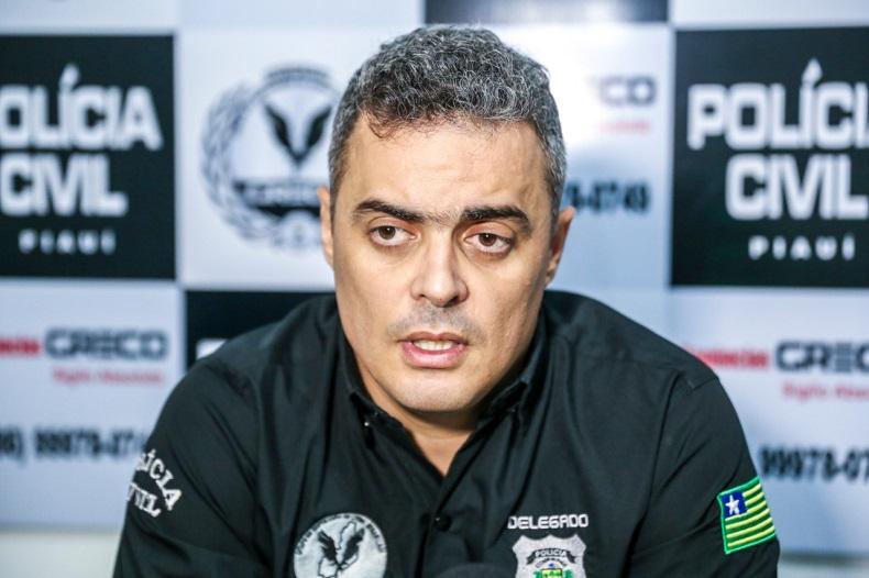 Imagem: delegado Tales Gomes. Divulgação/Polícia Civil