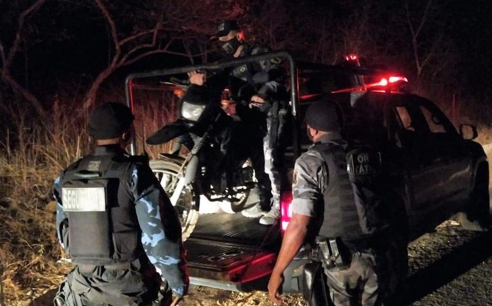 Casal foi preso na região da Estaca Zero na BR-316 Foto: Reprodução