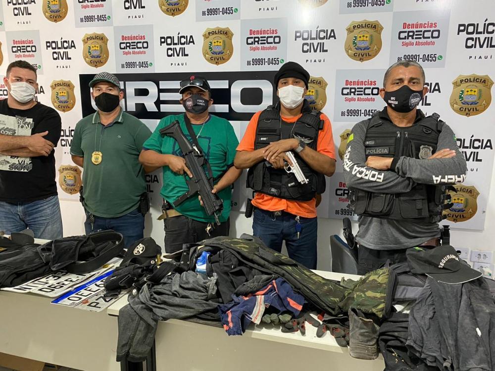 Foto/Divulgação Polícia Civil do Piauí