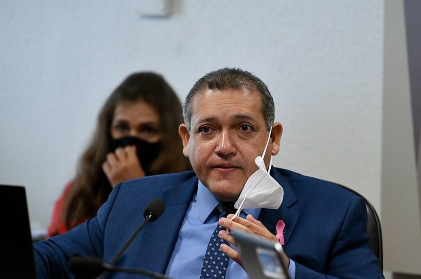 O piauiense Kassio Nunes Marques é o novo ministro do Supremo Tribunal Federal Foto: Edilson Rodrigues/Agência Senado