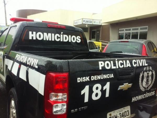 viatura da delegacia de homicidios