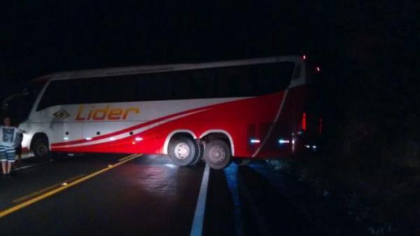 ônibus foi sequestrado durante a ação (Crédito: Reprodução )