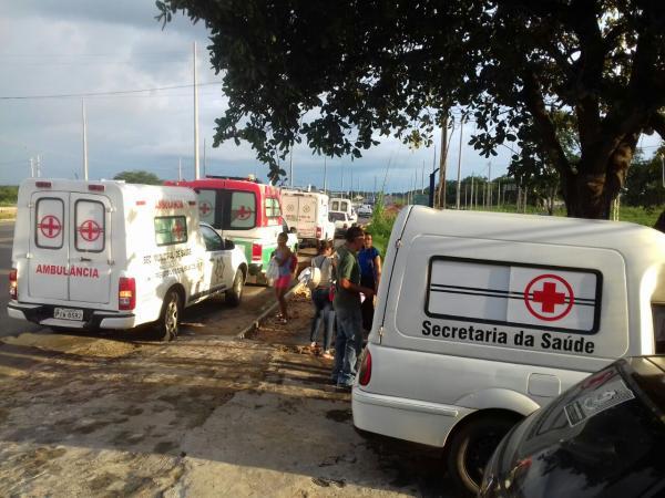 Ambulâncias apreendidas pela PRF