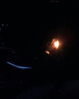 Grave acidente deixa uma Pessoa Morta no entroncamento da BR em Estaca Zero
