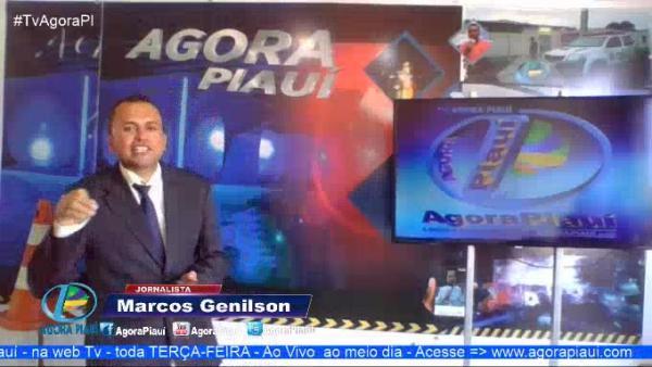 Jornal Agora Piauí dia 04/06 Tudo sob o comando do jornalista Marcos Genilson, o Marcão do Piauí. ????Ao Vivo. #TvAgoraPI