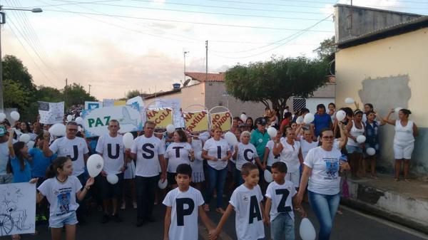 Caminhada Por Justiça e Paz na cidade de Hugo Napoleão (PI)